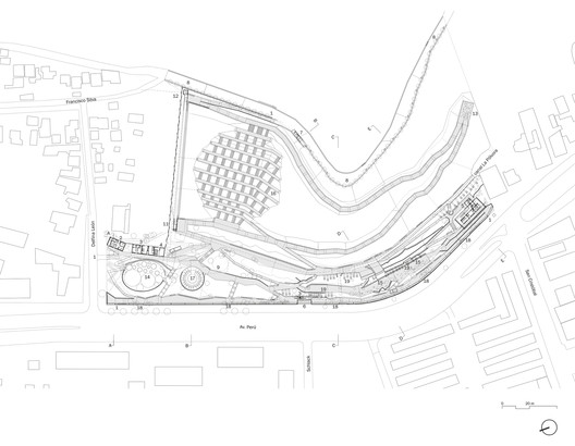 Infancy Bicentennial Park Plan / ELEMENTAL. Image via ELEMENTAL