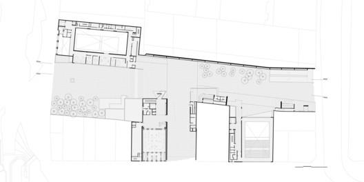 Plaza de las Artes Plan / Brasil Arquitetura. Image via Brasil Arquitetura