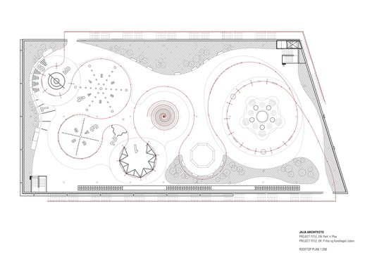 Park 'n' Play Plan / JAJA Architects. Image via JAJA Architects
