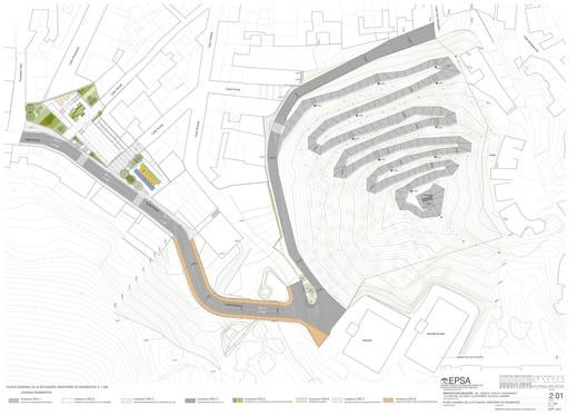 La Loma Del Calvario Plan / Ariasrecalde. Image via Ariasrecalde