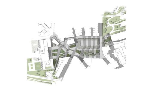 Plaza Urdanibia Plan / SCOB. Image via SCOB