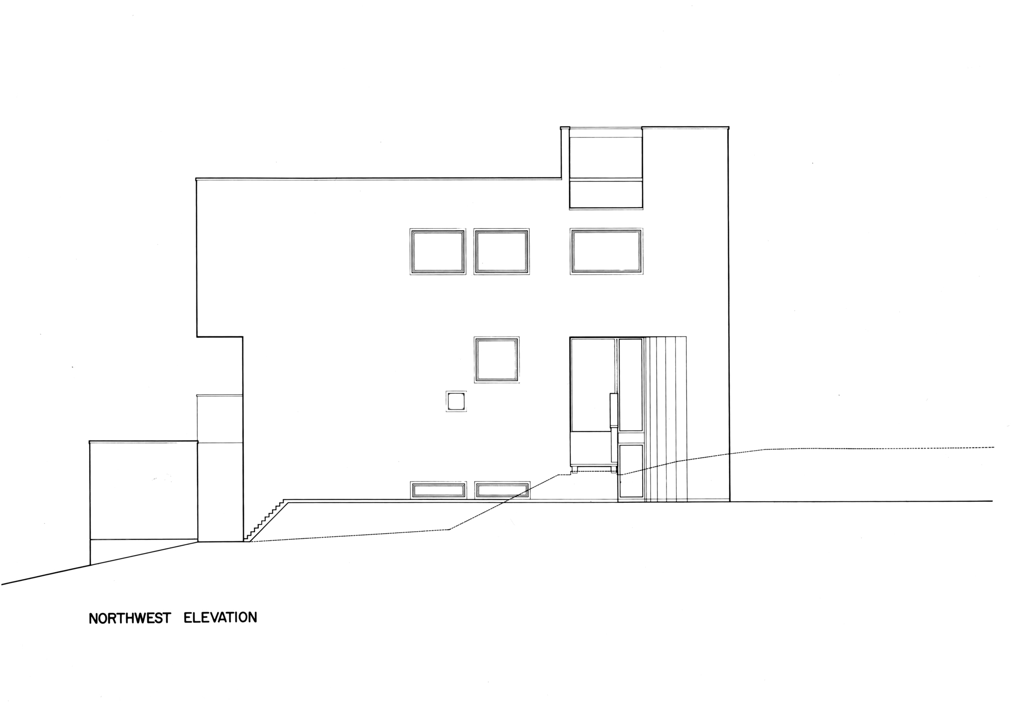 Gallery of AD Classics Smith House Richard Meier Partners 25 – Richard Meier Smith House Floor Plans