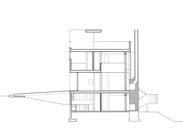 AD Classics Smith House Richard Meier Partners – Richard Meier Smith House Floor Plans