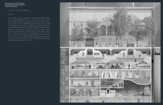 """C014-3 """"Subterranean"""" / Studio Ames. Image Courtesy of Fisher Brothers"""
