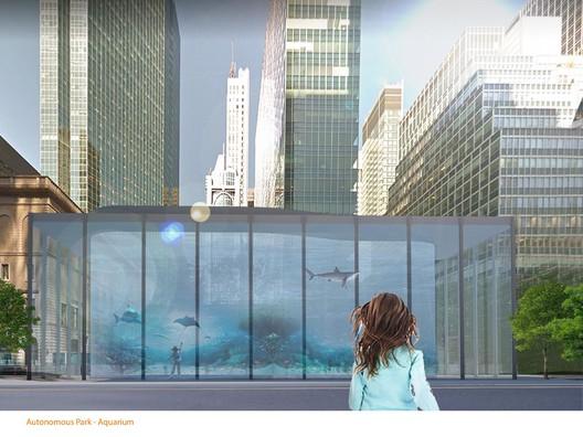 """E021-4 """"Aquarium"""" / Eric Spencer. Image Courtesy of Fisher Brothers"""