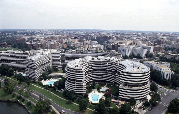 The Architecture of Washington DC's Watergate Complex: Inside America's Most Infamous Address, Courtesy of Joe Rodota