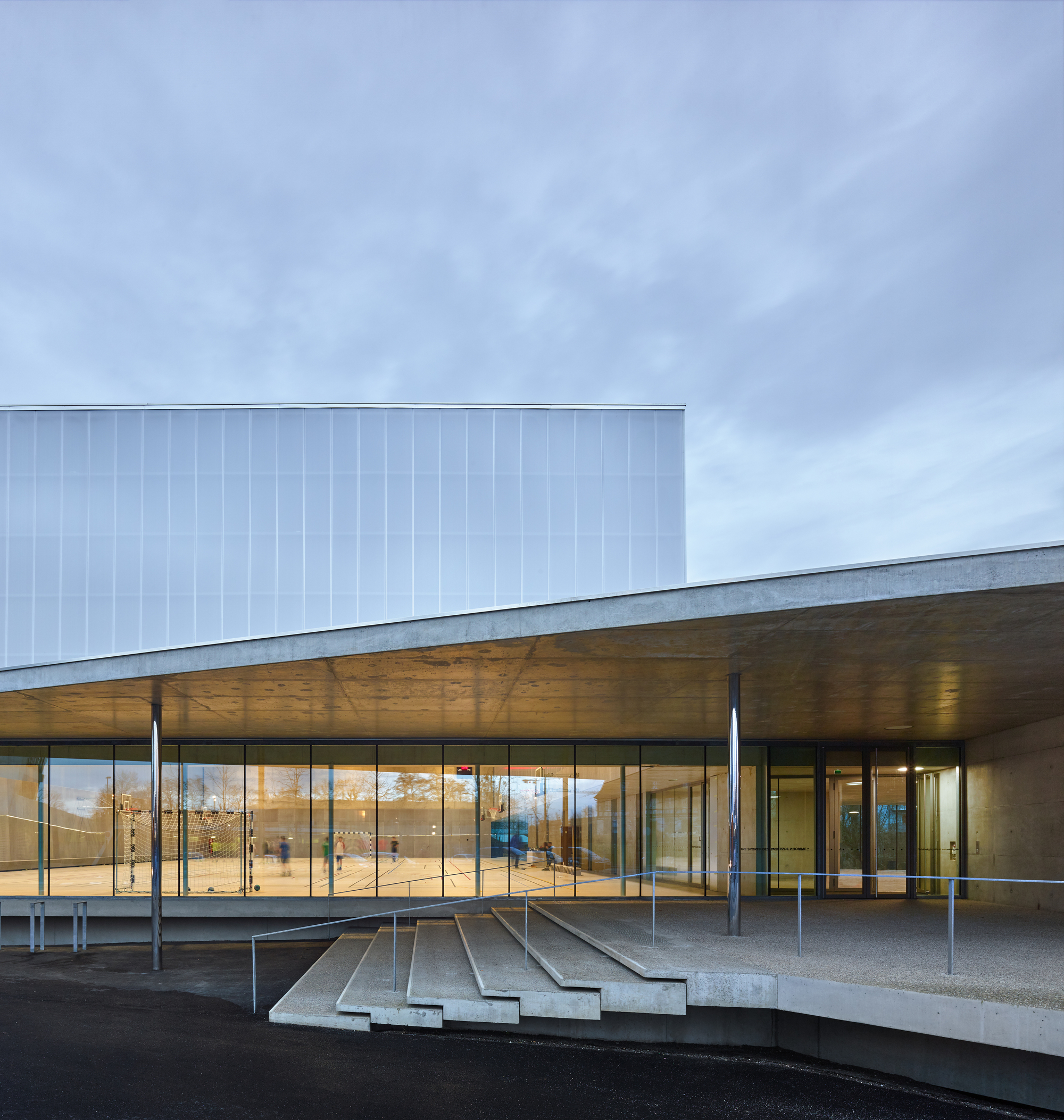 Human Rights Sports Center In Strasbourg Dominique