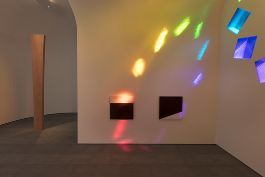 """Kelly wanted the space to be for contemplation, telling the New York Times, """"Go there and rest your eyes, rest your mind... Enjoy it"""". Image © Ellsworth Kelly Foundation, courtesy Blanton Museum of Art, The University of Texas at Austin"""