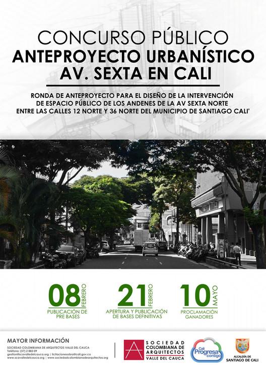 Concurso Público – Anteproyecto Urbanístico Av. Sexta