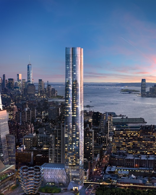 15 Hudson Yards. Image Courtesy of Related-Oxford