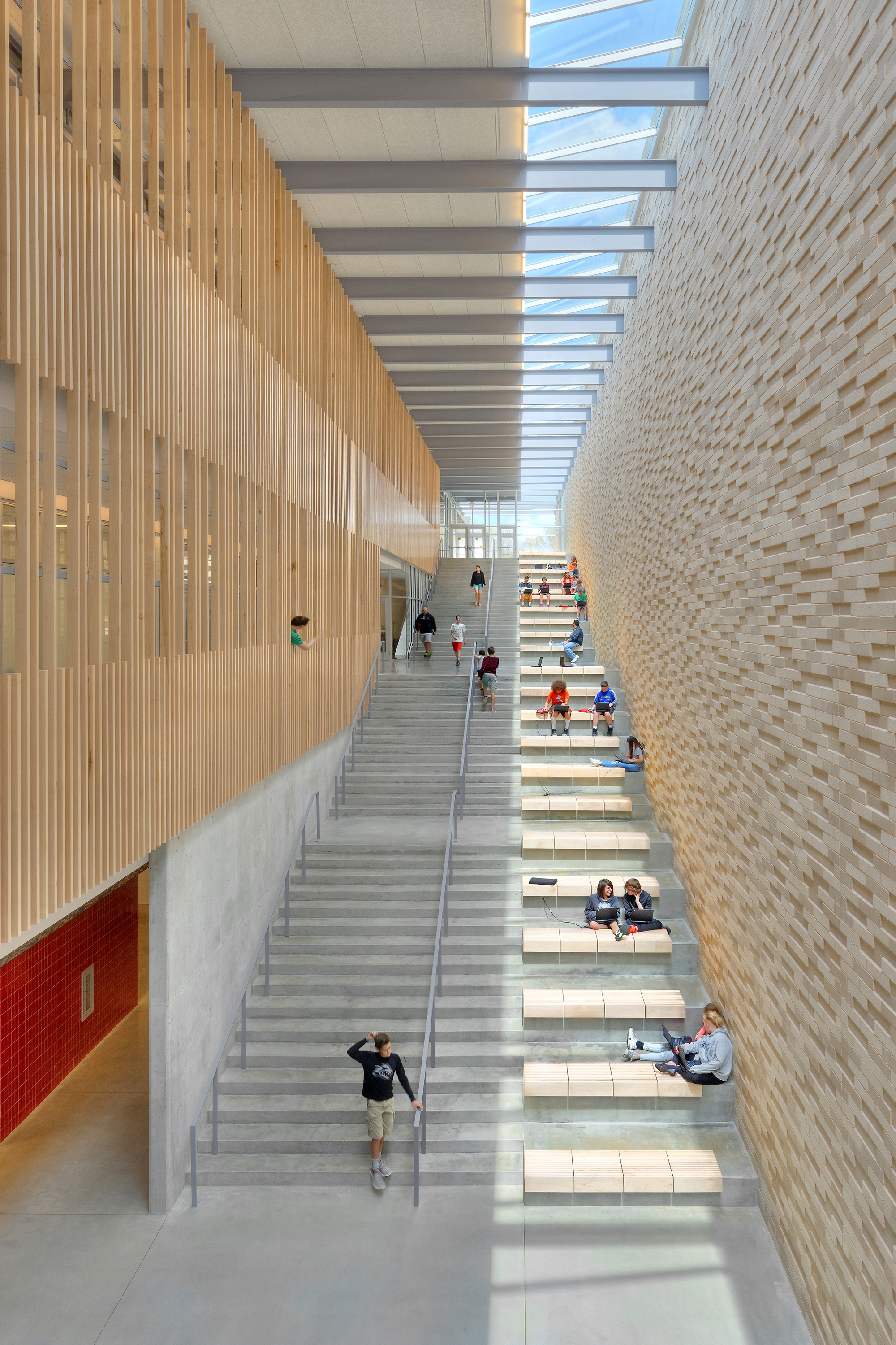 Reeds Spring Middle School Dake Wells Architecture Archdaily