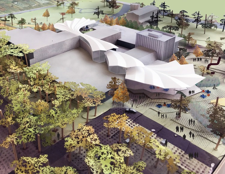 Studio Gang Reveals Design Of Arkansas Arts Center Expansion Archdaily