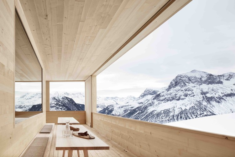 15 Incredible Architectural Works in the Mountains, © Adolf Bereuter