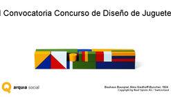 Arquia Social abre convocatoria del primer 'Concurso de Diseño de Juguete'