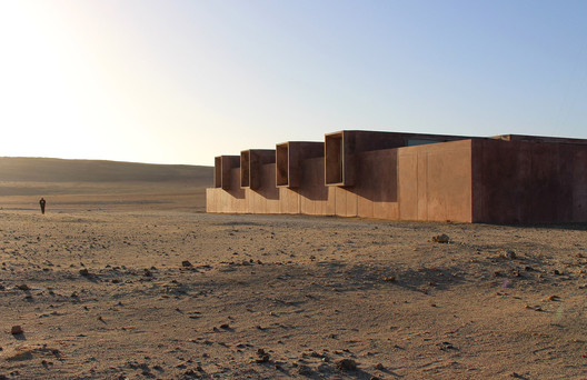 Site Museum of Paracas Culture / Barclay & Crousse. Courtesy of Barclay & Crousse. Image