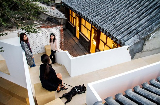 Courtyard Renovation at the White Pagoda Temple / Tsinghua University School of Architecture + maison h