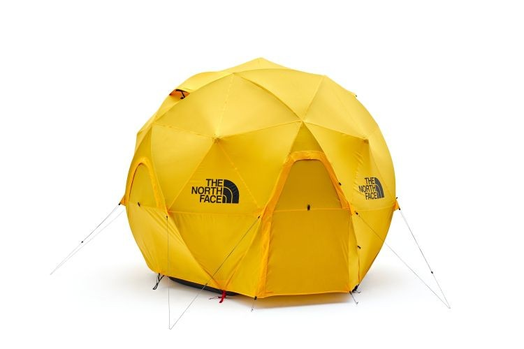 north face releases a geodesic dome tent capable of withstanding the