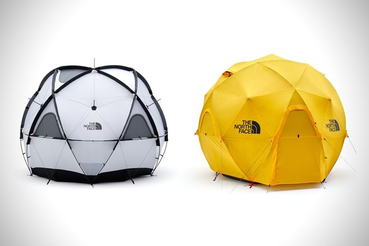 North Face Releases a Geodesic Dome Tent Capable of Withstanding the Toughest Weather, via North Face