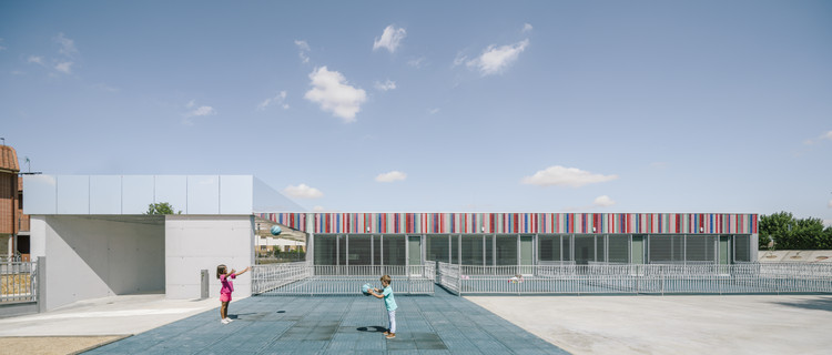 El Colegio casi Invisible / ABLM arquitectos, © Imagen Subliminal