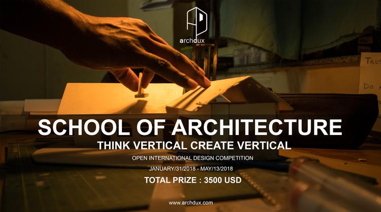 Open Call-School of Architecture