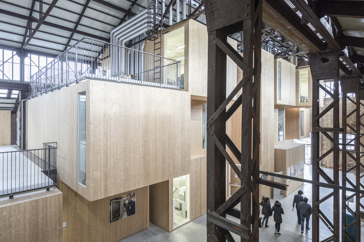 New Forms Of Industry Shed 19 By Andrea Oliva Architetto Archdaily