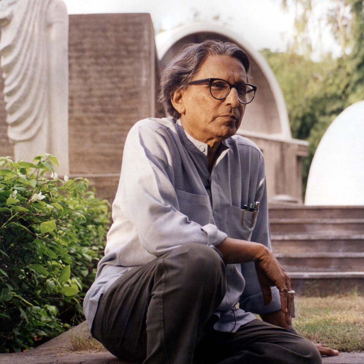 Balkrishna Doshi. Courtesy of VSF