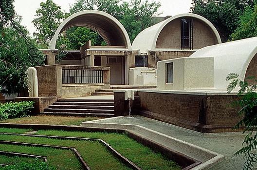 Sangath Architects Studio. Courtesy of VSF