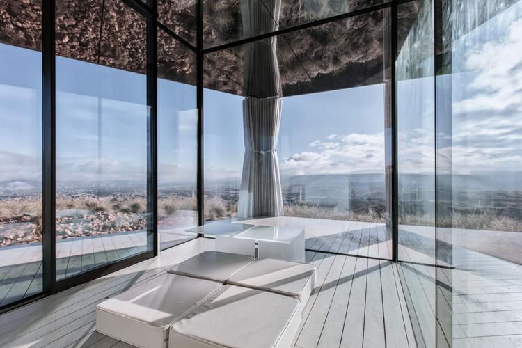 Glass Pavilion / OFIS arhitekti, Courtesy of Guardian Glass photo Gonzalo Botet