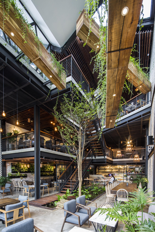 Gallery of An'garden Café / Le House - 53