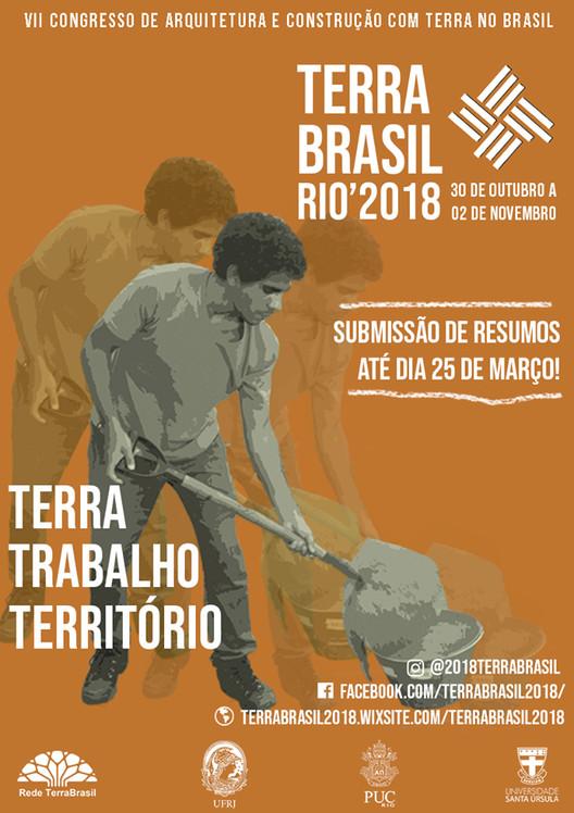 VII Congresso de Arquitetura e Construção com Terra - 2018 - Rio de janeiro