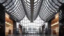 Chaoyang Park Plaza - Office Public Area Interiors / Supercloud Studio + MADA s.p.a.m.
