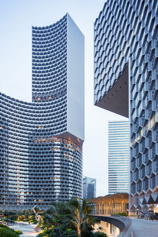 DUO Twin Towers / Büro Ole Scheeren