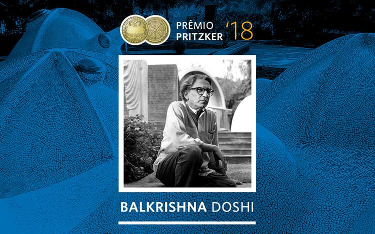 Balkrishna Doshi vence o Prêmio Pritzker 2018