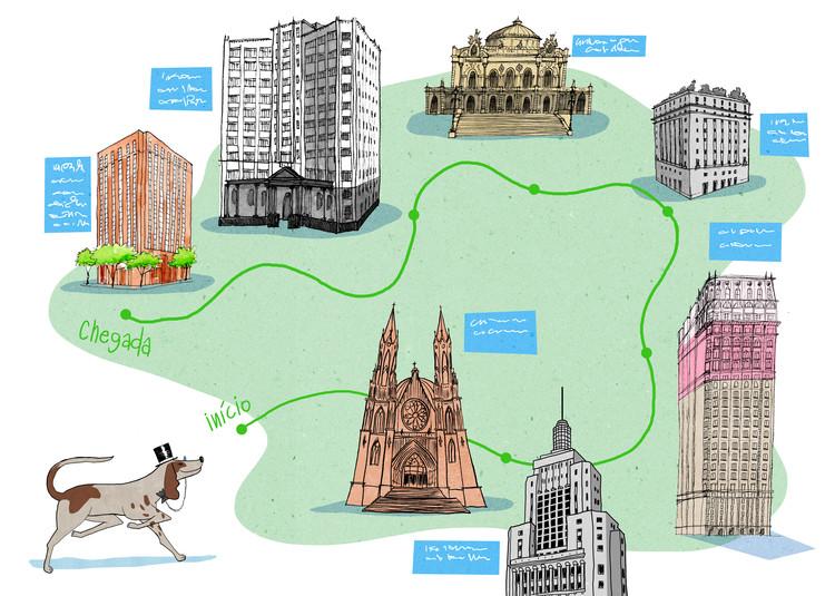 Este libro ilustrado invita a los niños de São Paulo a conocer la arquitectura de su ciudad, Cortesia de Prédios de São Paulo