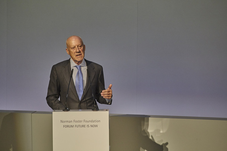 Norman Foster founded Foster + Partners in 1967. Image via Norman Foster Foundation