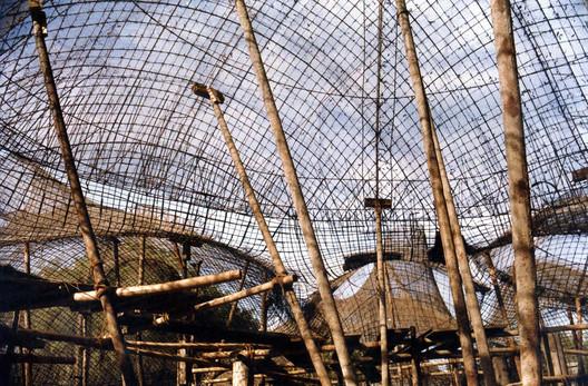 Amdavad Ni Gufa (Construction). Image © VSF. Courtesy of the Pritzker Architecture Prize