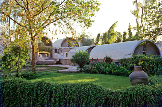 Sangath Architect's Studio. Image © VSF. Courtesy of the Pritzker Architecture Prize