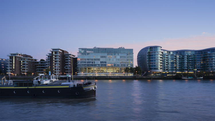 Foster + Partners' London office, Riverside. Image © Marc Goodwin