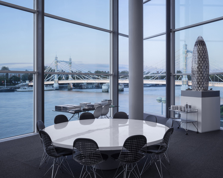 There's a Gender Pay Gap at Foster + Partners (Unsurprisingly), Foster + Partners' London office, Riverside. Image © Marc Goodwin