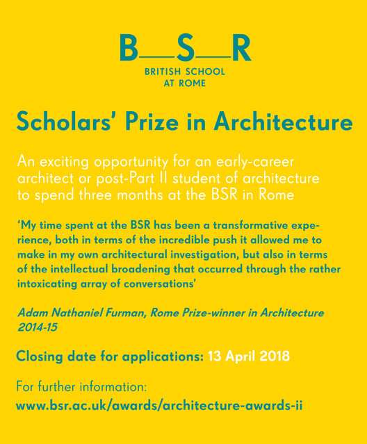 Scholars' Prize in Architecture