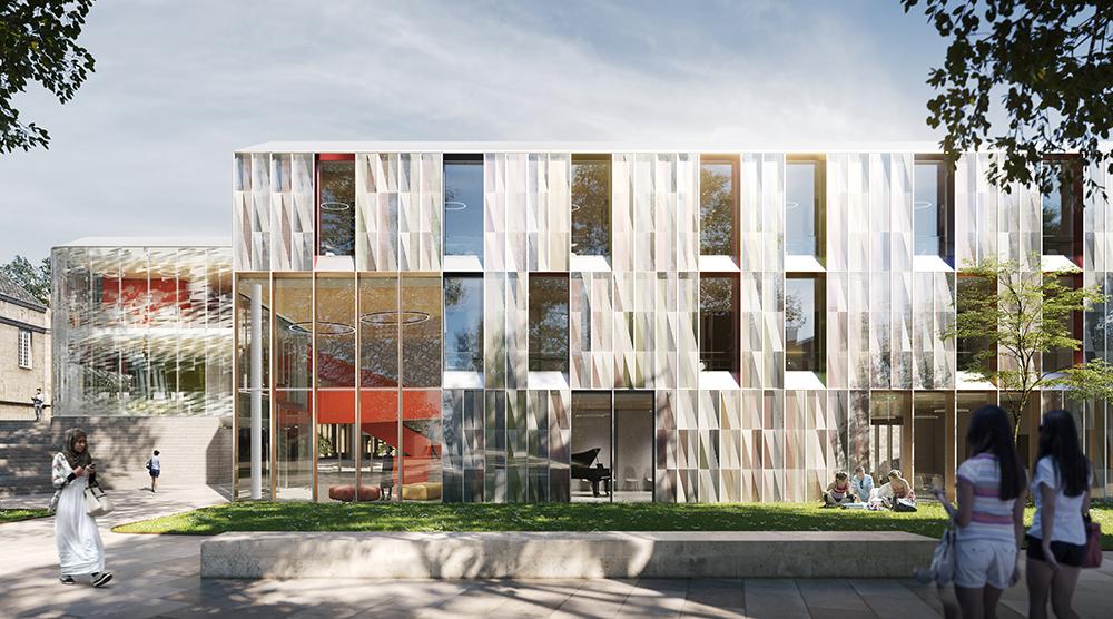 Amanda Levete Architects Unveil Oxford University Addition