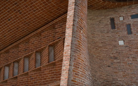The Intricate, Undulating Brickwork at Eladio Dieste's Cristo Obrero Church in Uruguay