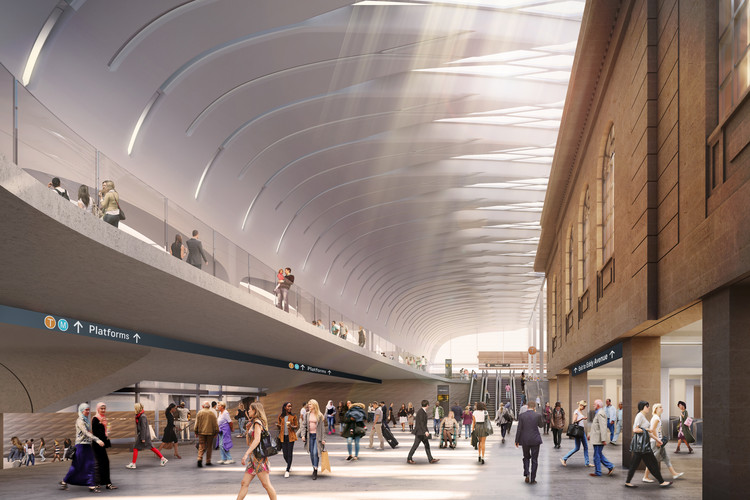 John McAslan + Partners and Woods Bagot Deliver Sydney Metro Upgrade, Courtesy of John McAslan + Partners