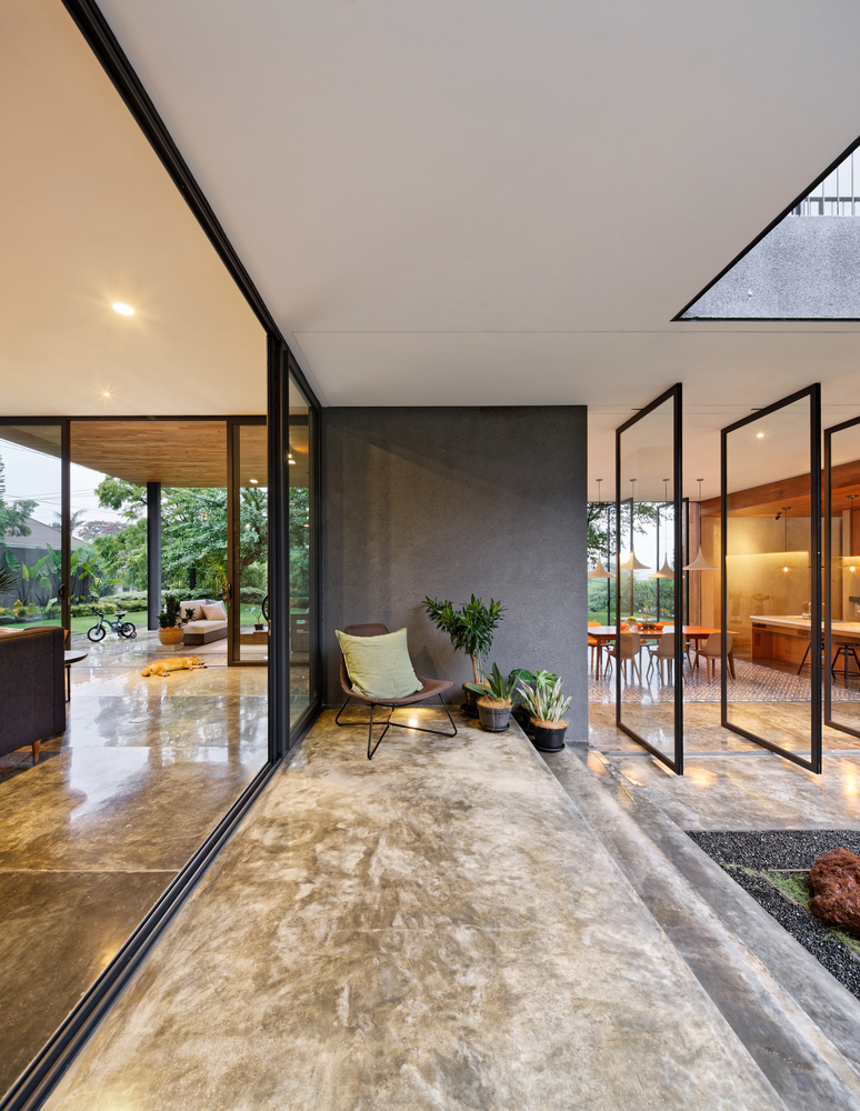 Gallery of Inside Outside House / Tamara Wibowo Architects - 2 on outside front entry design, outside bathroom design, outside kitchen design, outside windows design, outside wedding design, outside floor design, outside garage design, outside door design, outside house design, outside basement design,