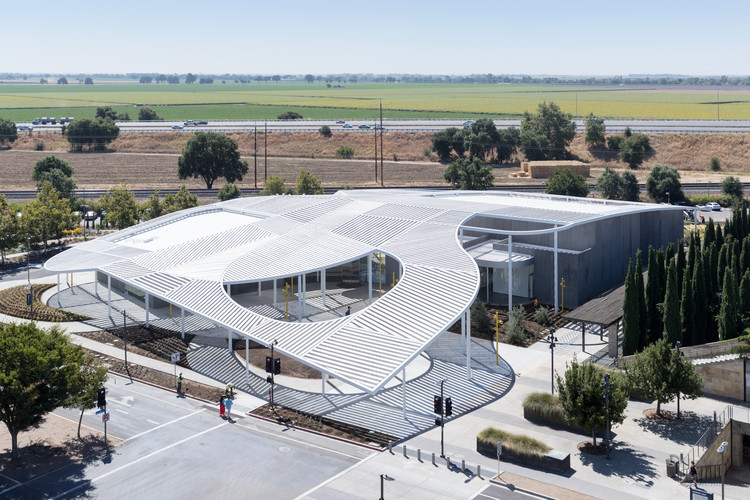 Jan Shrem and Maria Manetti Shrem Museum of Art / SO-IL, © Iwan Baan