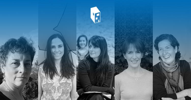 Cinco arquitectas colombianas destacadas en diseño, investigación y docencia, Beatríz García Moreno (izq.), María Paula González Bozzi, Lina Toro, Ana Elvira Vélez, María Cecilia O'Byrne. Image
