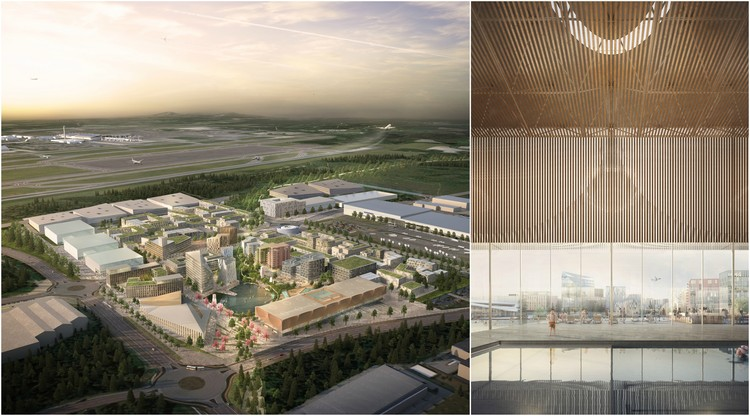Electric Planes and Driverless Cars: Plans Unveiled for World's First Energy-Positive City Airport, Courtesy of Forbes Massie