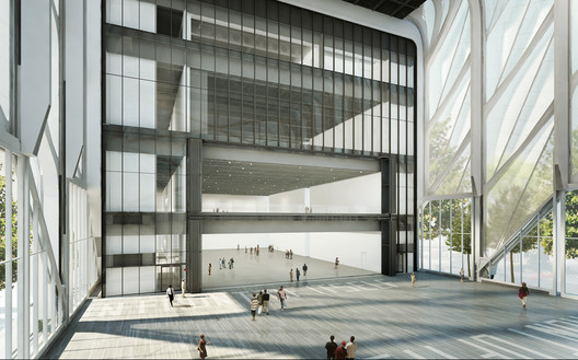 Rendering of The McCourt, courtesy of Diller Scofidio + Renfro in collaboration with Rockwell Group