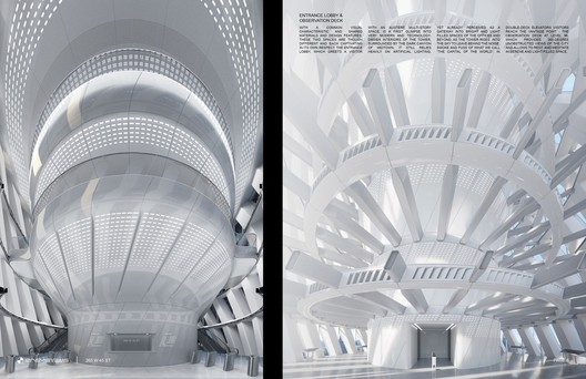 Entrance Lobby and Observation Deck. Image Courtesy of RB Systems