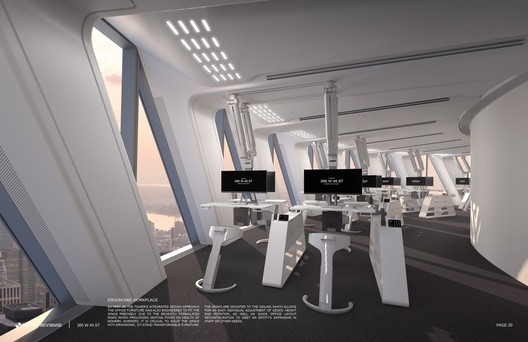 Ergonomic Furniture. Image Courtesy of RB Systems